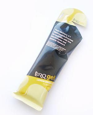 Lemon Drizzle frisse energiegel